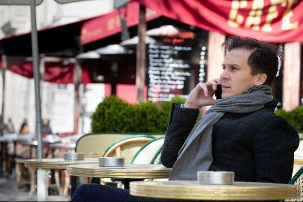 Le candidat à la mairie de Paris Gaspard Gantzer, ici en avril dernier dans la capitale.