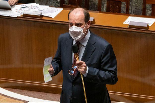 Jean Castex, à l'Assemblée nationale mardi.