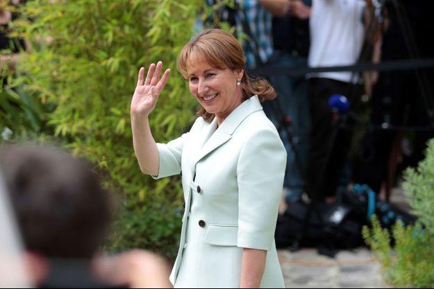 Ségolène Royal quittant le ministère de l'Ecologie en mai 2017.
