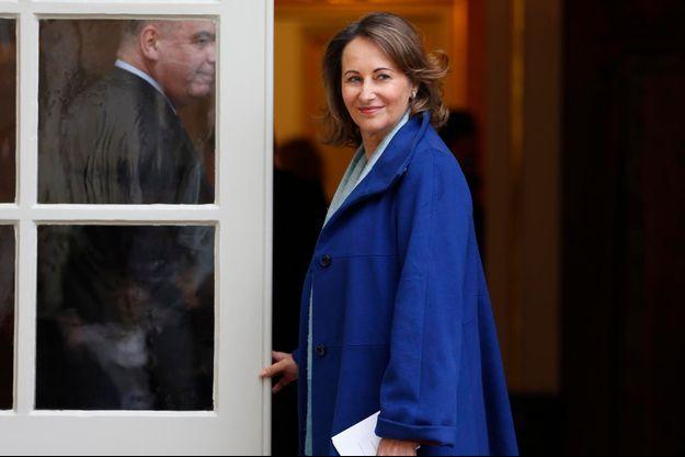 Ségolène Royal à Matignon le 30 octobre 2012.