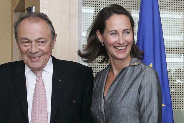 Michel Rocard et Ségolène Royal en 2006.