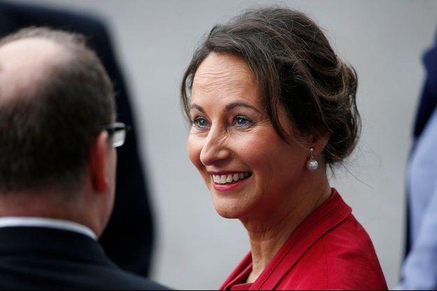Ségolène Royal sourit à François Hollande, le 14 juillet dernier.
