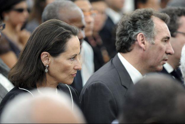 Ségolène Royal et François Bayrou en 2008.