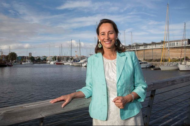 L'ex-candidate à l'élection présidentielle, à La Rochelle, le 24 août.