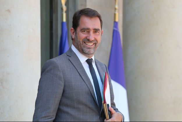 Christophe Castaner le 6 juillet dernier à l'Elysée.