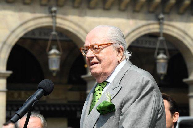 Jean-Marie Le Pen, ici le 1er mai 2019.