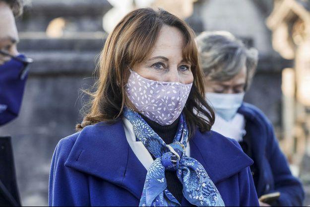 Ségolène Royal ici le 8 janvier à Jarnac pour un hommage à François Mitterrand.