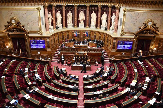 Image d'illustration. Séance du Sénat, en 2018.