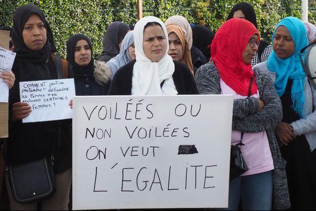 Photo d'illustration prise lors d'une manifestation du «collectif 66 des mamans en colère», le 28 mai 2019 à Perpignan.