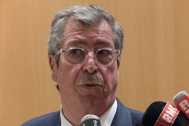Patrick Balkany à la sortie de son procès, le 22 mai 2019.