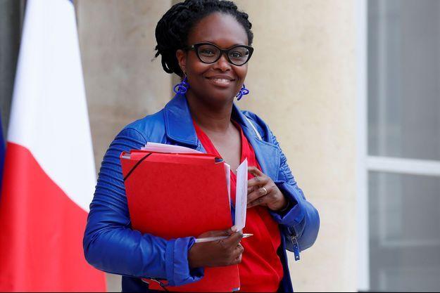 Sibeth Ndiaye à l'Elysée, le 17 juin 2020.
