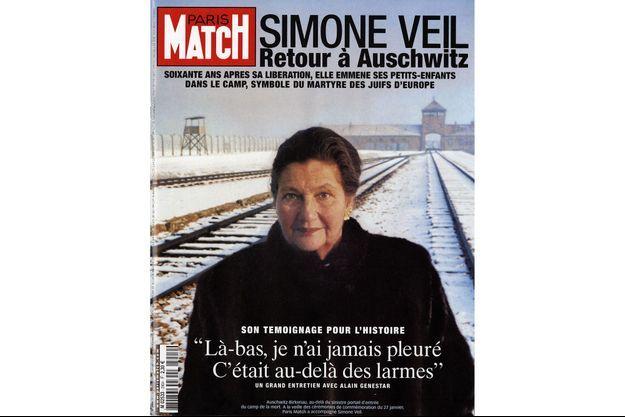 La couverture du numéro 2904 de Paris Match du 13 janvier 2005.