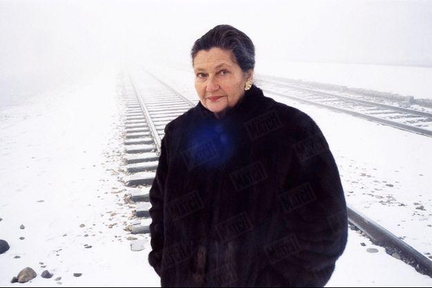 simone veil Auschwitz