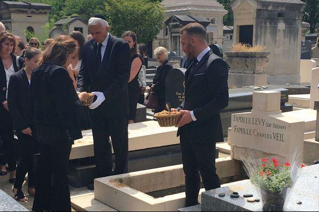 Simone Veil inhumée au cimetière du Montparnasse