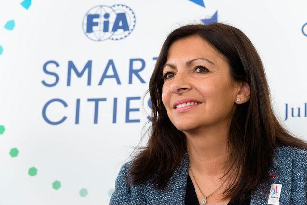 Anne Hidalgo le 20 mai 2017 à Paris.