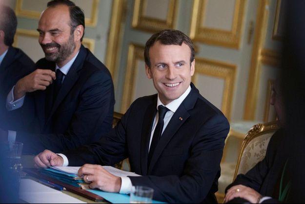 Edouard Philippe et Emmanuel Macron, en juillet 2017.
