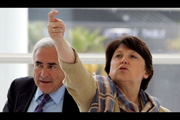 Dominique Strauss-Kahn et Martine Aubry (archives).