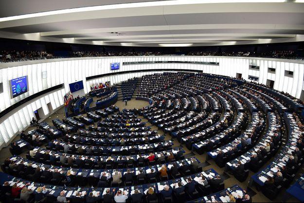 Au Parlement européen, à Strasbourg, le 13 février.