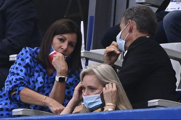 Anne Hidalgo et Nicolas Sarkozy le 31 juillet 2020.