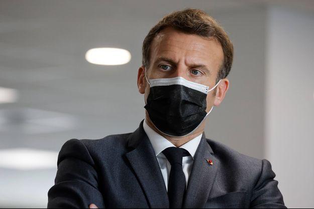 Emmanuel Macron le 29 mars 2021.