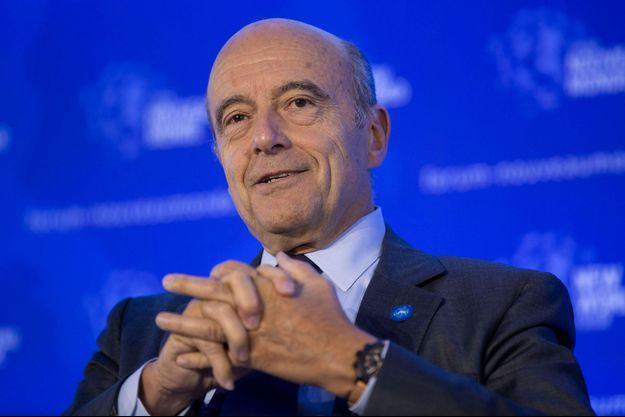 Alain Juppé le 8 octobre dernier.