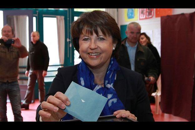 Martine Aubry est la favorite de notre sondage.