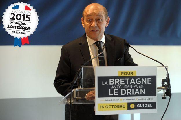Jean-Yves Le Drian vendredi dernier.