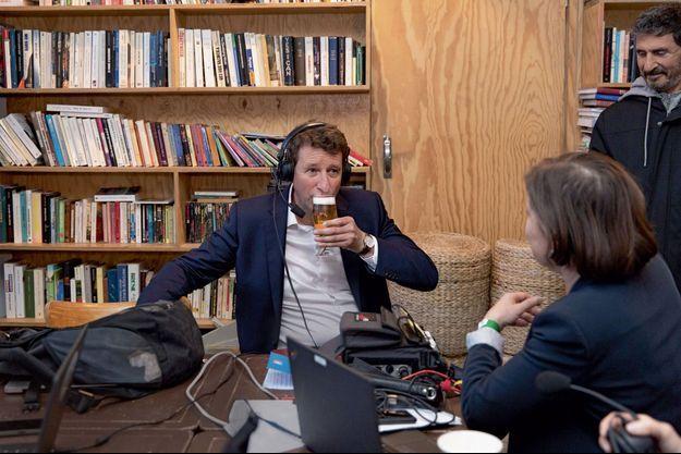 Yannick Jadot lors d'une interview, le 26 mai, au soir des élections européennes.
