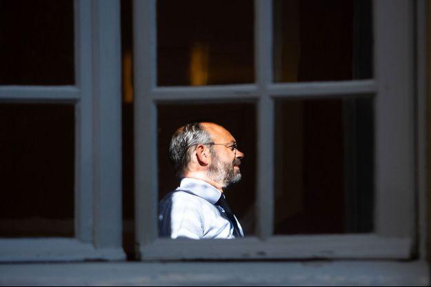 Edouard Philippe à Matignon, vendredi dernier.