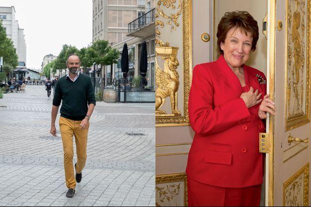Edouard Philippe et Roselyne Bachelot.