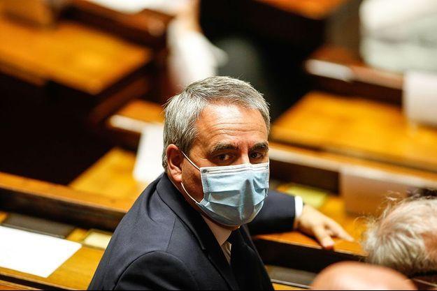 Xavier Bertrand à l'Assemblée nationale.