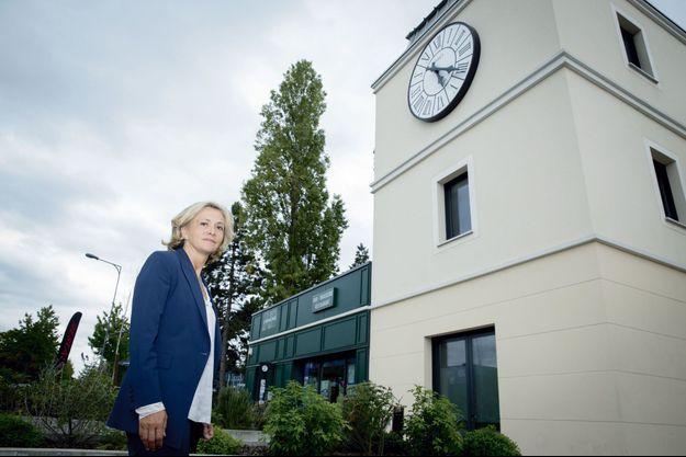 Valérie Pécresse au Blanc-Mesnil, en Seine-Saint-Denis, le 12 septembre.