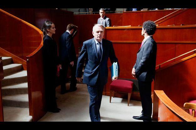 Jean-Marc Ayrault à la conférence sociale.