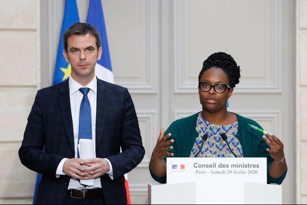 Olivier Véran et Sibeth Ndiaye