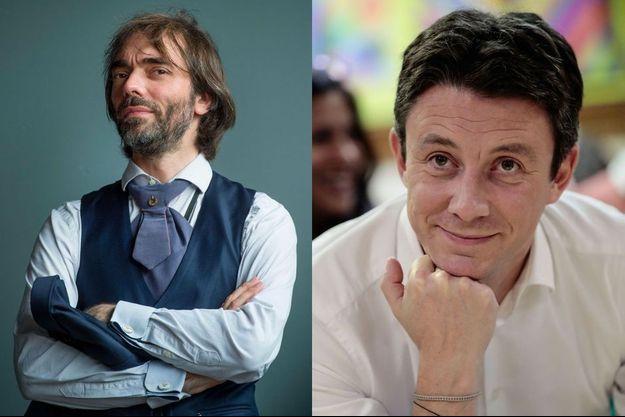 Cédric Villani et Benjamin Griveaux.