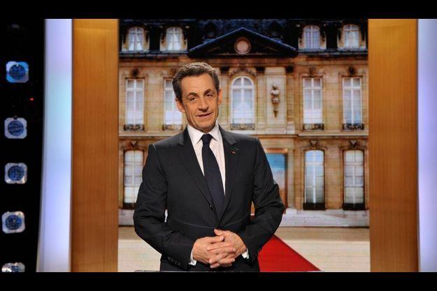 Nicolas Sarkozy sur TF1 lundi soir face à un panel de Français.
