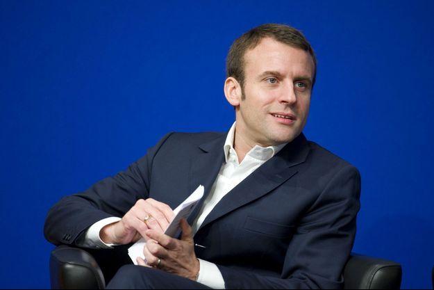 Emmanuel Macron le 23 janvier.