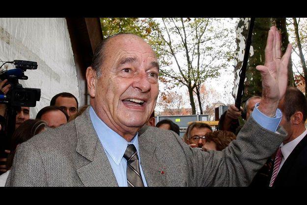 Jacques Chirac à Brive-La-Gaillarde