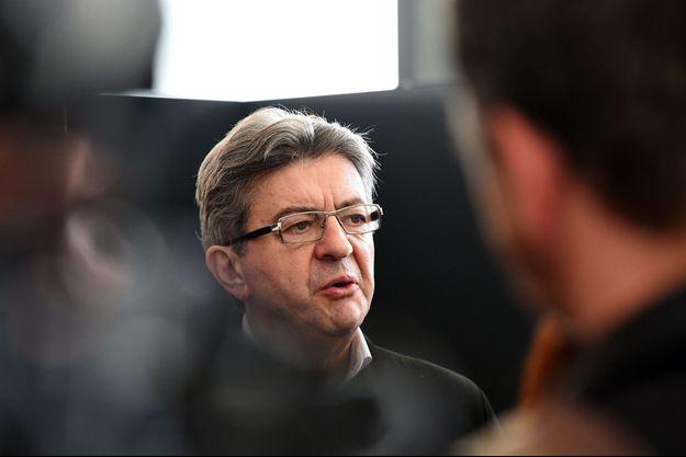 Jean-Luc Mélenchon à Lille, mardi.