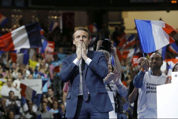 Emmanuel Macron à Lyon le 5 février.