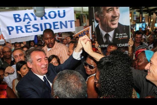 François Bayrou était en déplacement à la Réunion le week-end dernier.