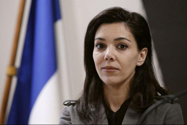 Sophia Chikirou lors d'une conférence de presse de Jean-Luc Mélenchon le 25 janvier dernier.
