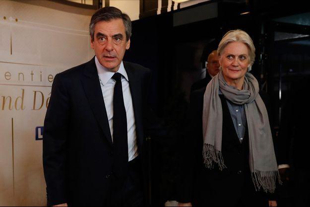 François Fillon et son épouse Pénélope lors de la dernière campagne présidentielle.