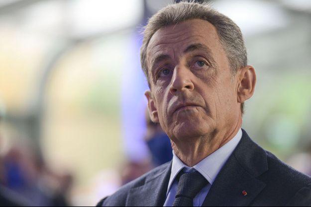Nicolas Sarkozy, ici fin septembre lors du Sommet du Grand Paris.