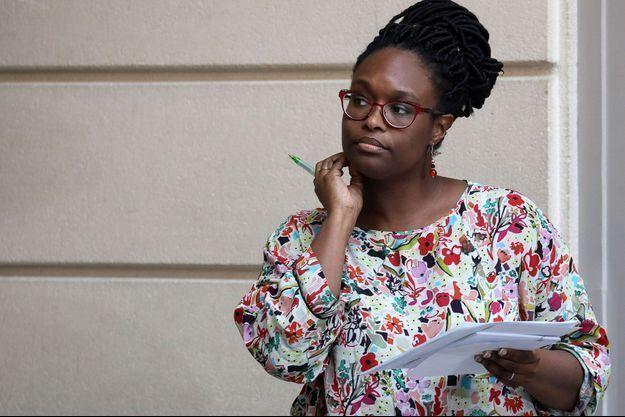 Sibeth Ndiaye ici le 4 mars à l'Elysée.
