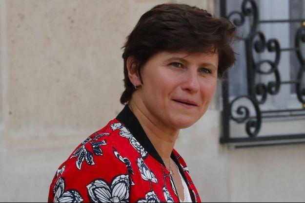 Roxana Maracineanu à l'Elysée à Paris, le 5 septembre 2018
