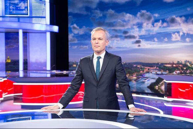 François de Rugy sur le plateau du JT de France 2, mardi.