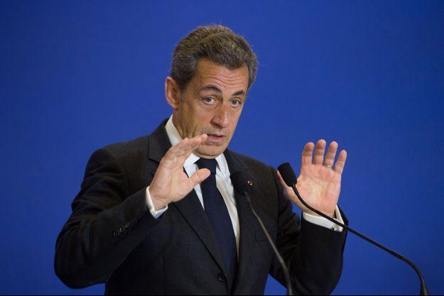 Nicolas Sarkozy le 17 janvier.