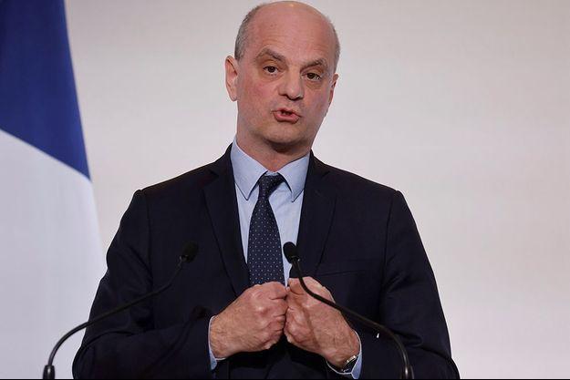 Jean-Michel Blanquer le 22 avril 2021.