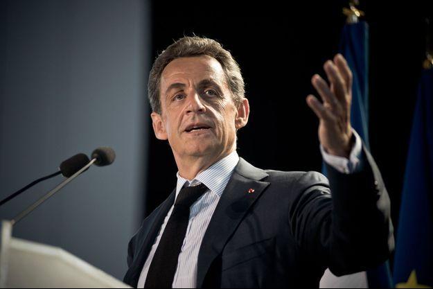 Nicolas Sarkozy en meeting le 11 mai dernier.